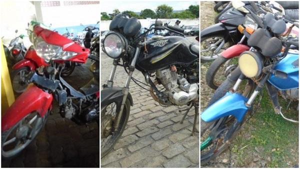 Leilão de Motos em Balneário Camboriú-SC