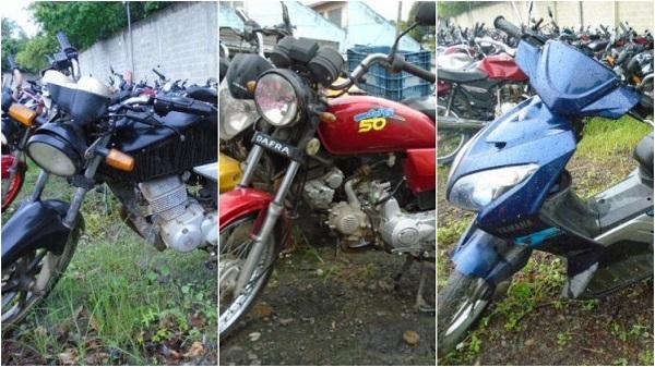 Leilão de Motos em Oliveira-MG