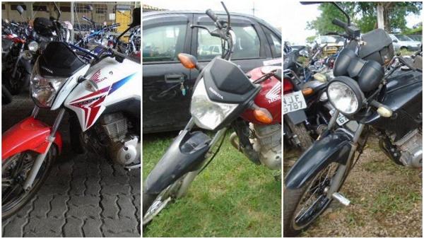 Leilão de motos em Porto Alegre-RS