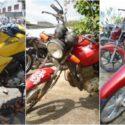 Leilão de Motos em Paraguaçu Paulista-SP