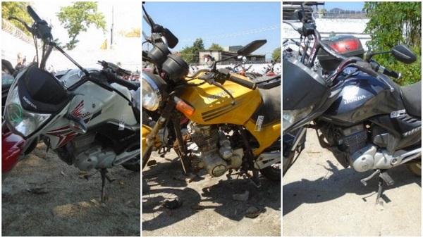 Leilão de Motos em Uberlândia-MG