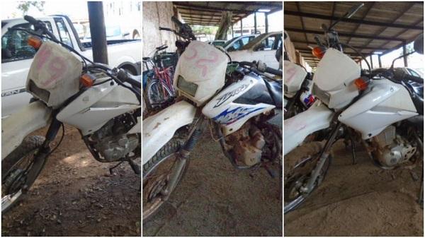 Leilão de motos em Carapebus-RJ