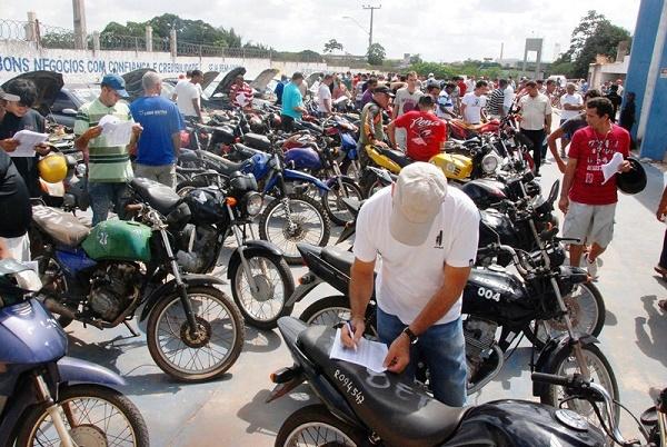 Leilão de Motos do DETRO-RJ
