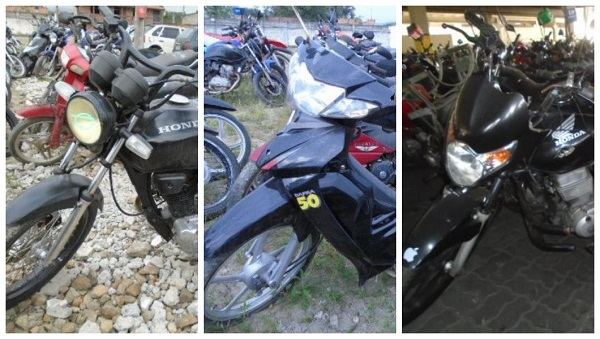 Leilão de Motos em Betim-MG