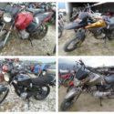 Leilão de motos em Botucatu-SP