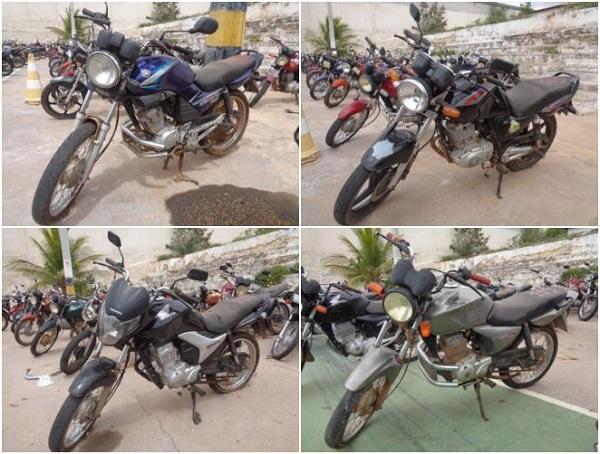Leilão de Motos em Capelinha-MG