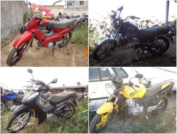 Leilão de Motos em Guaxupé-MG