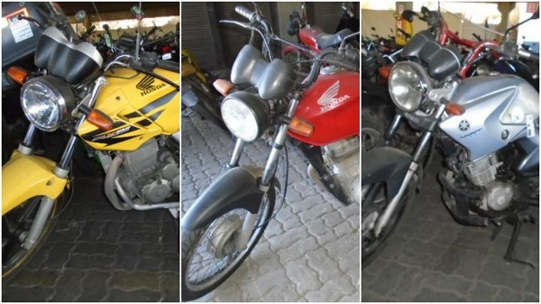 Leilão de Motos em Pelotas-RS