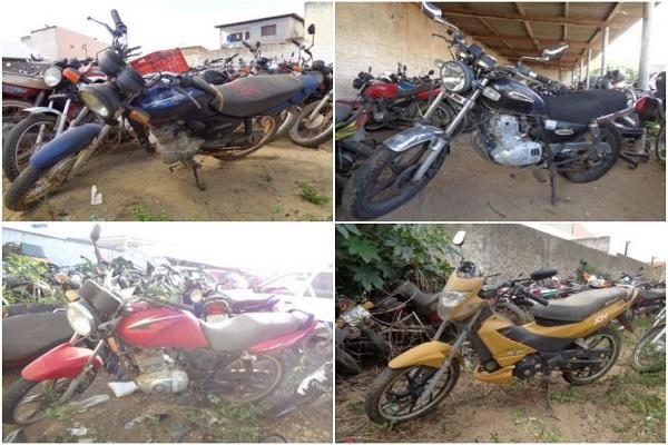 Leilão de Motos em Piracicaba-SP