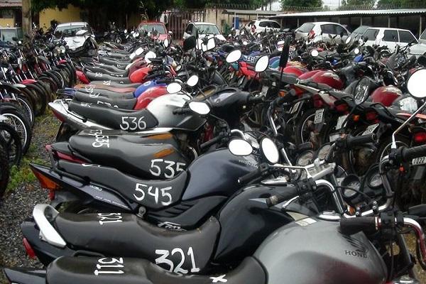 Leilão de Motos da Polícia Federal-PF
